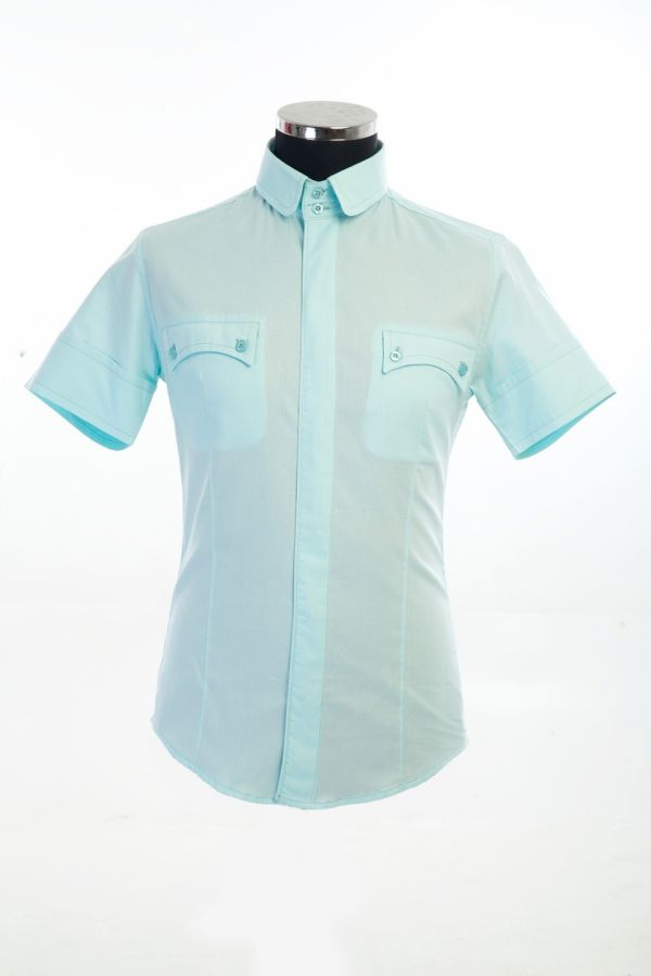 100% Cotton Shirt with double front pockets and back details £140 Now £70 size 3XL(1),Total 1, code 006