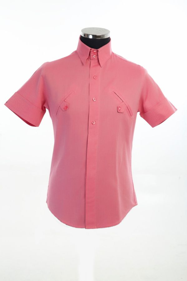 Cotton Shirt with double front welt pocket Sizes 2xL (1)and 4XL(1) code014 £140 Now £70