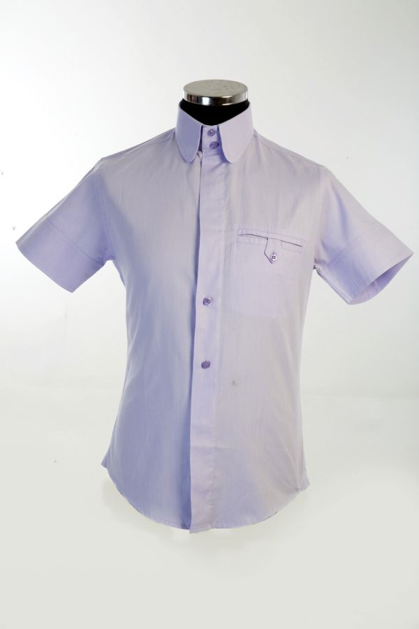 Pale Purple Cotton Shirt with welt pocket. £140, Now £70,100% cotton,Size 3XL(1) ,Total 1,code UX1
