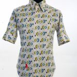Prints Shirt with buttoned cuffs 0Cotton £140 Now £70 sizes S and 2xL code 004